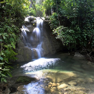 Togi Gana'a Waterfall, Afulu sub-district, Nias Utara.