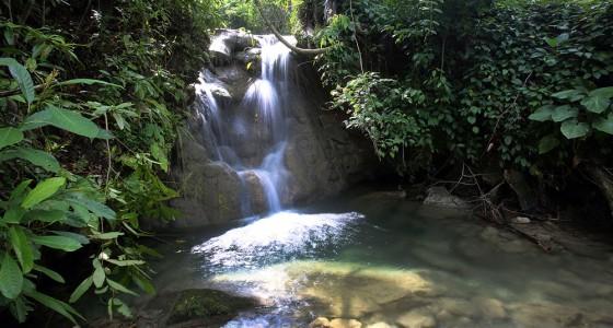 Togi Gana'a Waterfall, Afulu sub-district, Nias Utara.