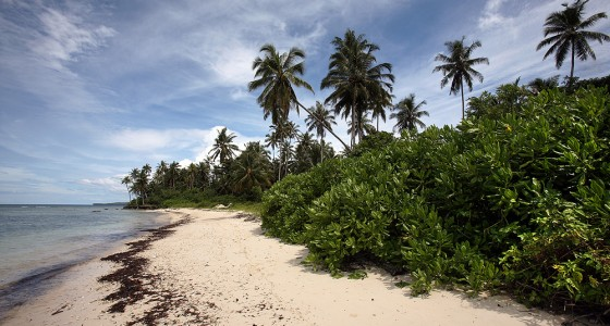 Asi-Walo Beach on the east-coast of Nias Utara.