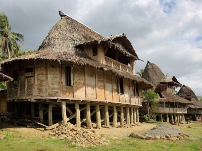 Humene Siheneasi Traditional Village, Tugala Oyo, North Nias.