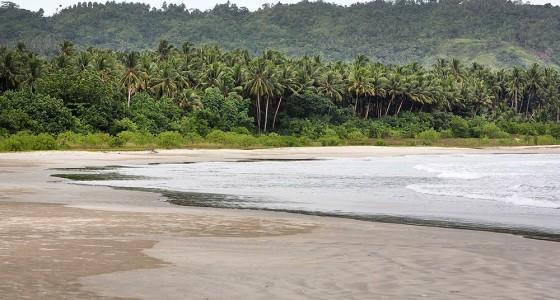 Laosi-Laosi on the west-coast of Nias Utara.
