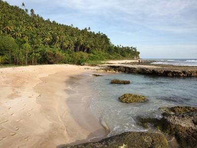 Lasambo Beach, Lahewa, Nias Utara.