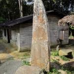 Megalith Stone, Namohalo, North Nias (Nias Utara), Indonesia.