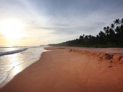 Pasir Merah Beach, Afulu, Nias Utara.