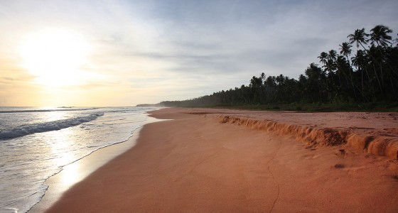 Pantai Pasir Merah (Red Sand Beach) on the west-coast of Nias Utara.