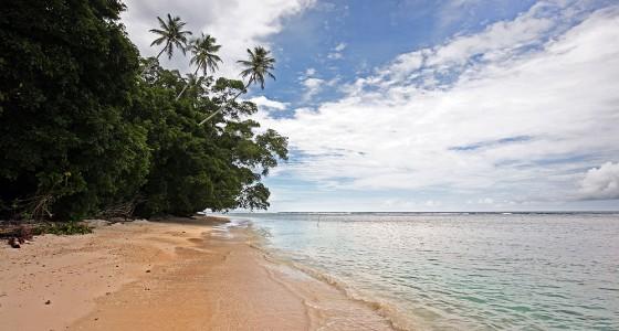 Seriwa'o Beach on the north-east corner of Nias Island.