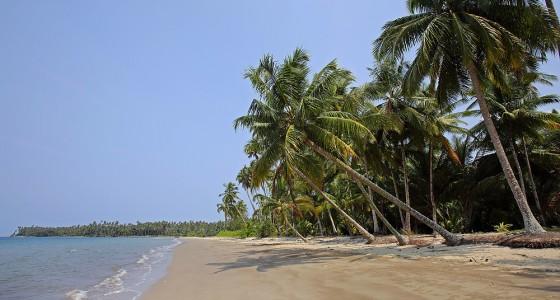 Tanayae Beach in Tuhemberua on the east-coast of Nias Utara.