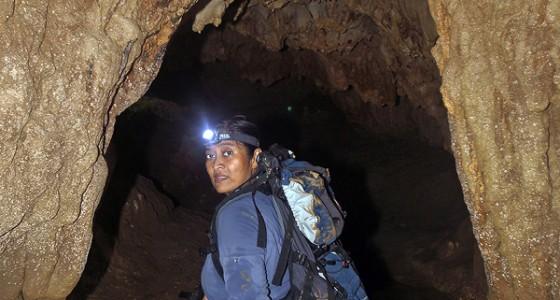 Exploring the Togi Banua Cave, Alasa sub-district, Nias Utara.