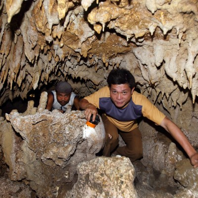 Togi Henu Cave, the longest cave in Nias Utara.