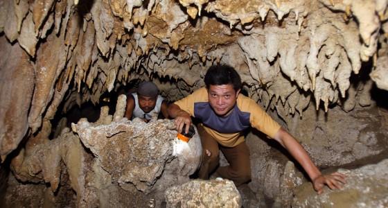 Togi Henu Cave, the longest cave in Nias Utara.