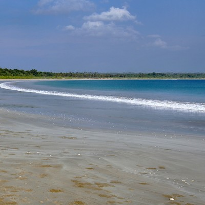 Toyolawa Beach in the north-west corner of Nias is one of the longest beaches on the Island.