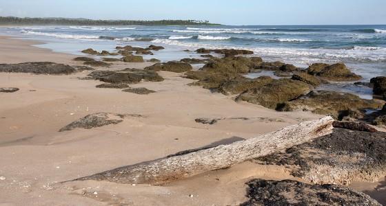 Walo Beach on the west-coast of Nias Utara, near Afulu village.