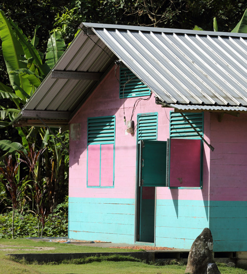 One of 1500 Canadian Red Cross houses built across North Nias.
