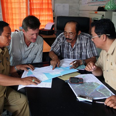 Tourism Site Survey; planning field trips together with senior staff of the North Nias Tourism & Culture Department.